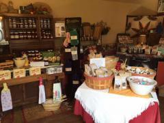 Various Amish food items