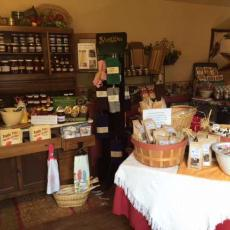 Various Amish food items
