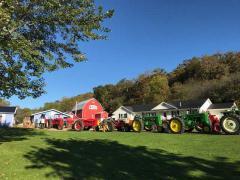 Antique Tractor Club Visited