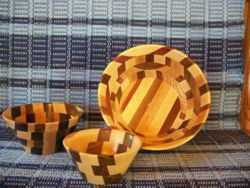 Amish Made Wooden Bowls
